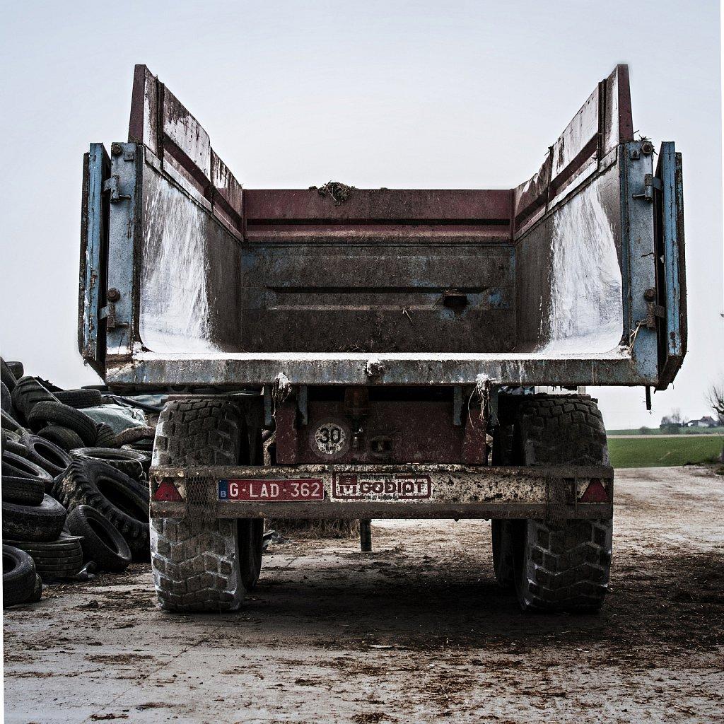 Camion à la ferme